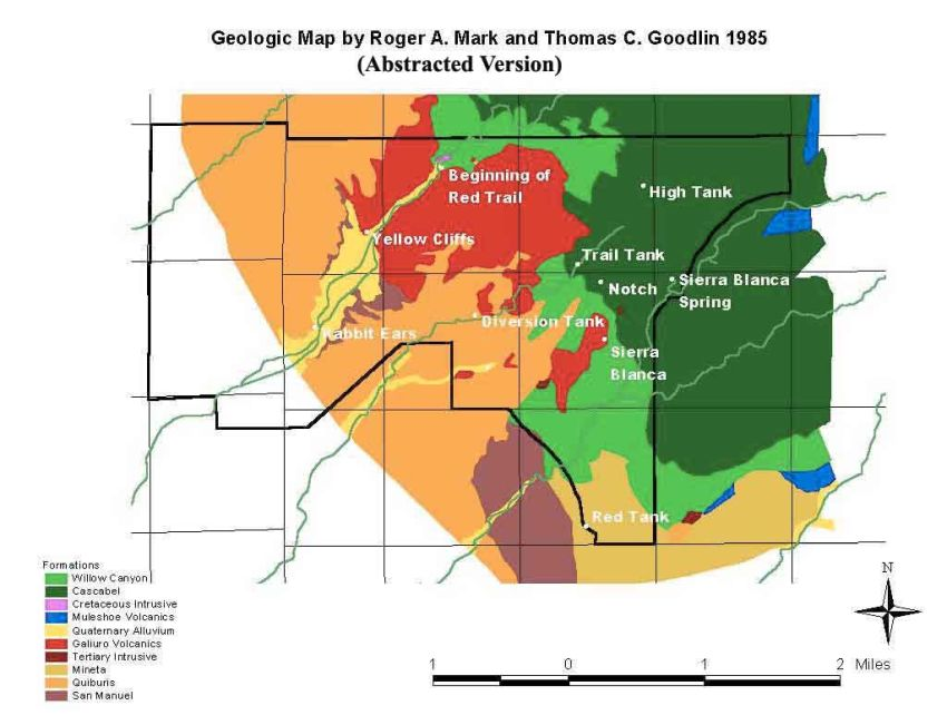 Geology Overview - Map of colorado plateau region